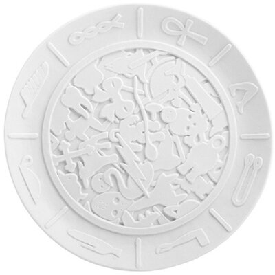 Biscuit Coded Message Plate By Studio Job