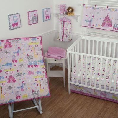 Sumersault Circus Circus Crib Bedding Set