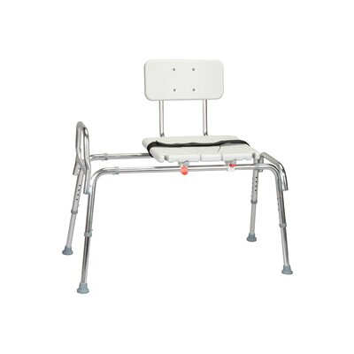 Snap N Save Sliding Transfer Bench with Locking Mechanism Size: X-Long image