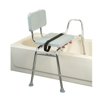 Transfer Bench with Padded Seat and Back