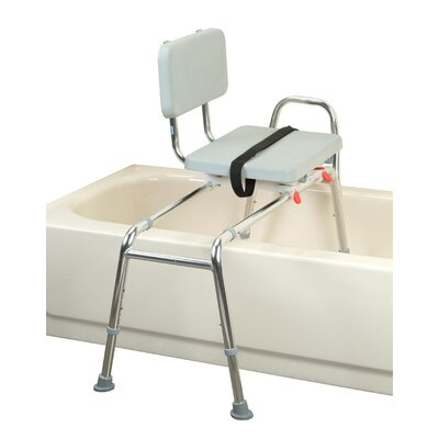 Transfer Bench with Padded Swivel Seat and Back image