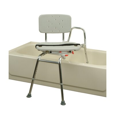Transfer Bench with Molded Swivel Seat and Back image