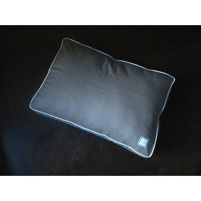 Matching Slate Dog Pillow Size: Medium (30L X 21W)