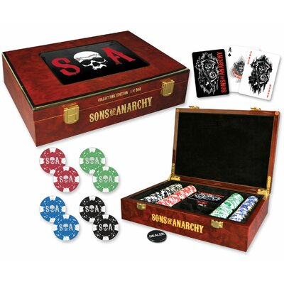 Sons of Anarchy Collectors Edition Poker Set 22377