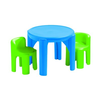 Kids' 3 Piece Table & Chair Set 621048