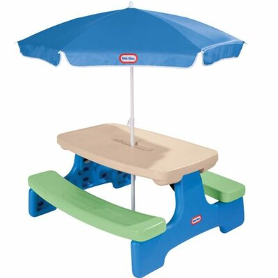 Easy Store Picnic Table with Umbrella 629952M