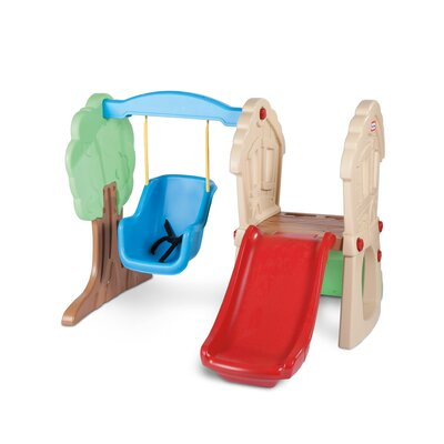 Little Tikes Toddler Hide and Seek Climber and Swing Playground 630293M
