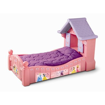 Details about little tikes princess cozy cottage toddler for Cozy cottage toddler bed