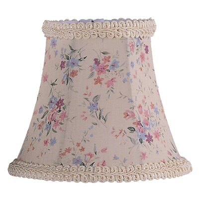 5 Floral Silk Bell Clip-on Candelabra Shade