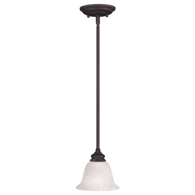 Altamont 1-Light Mini Pendant Finish: Bronze