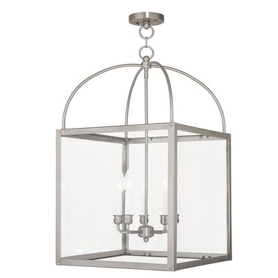 Brundidge 5-Light 60W Foyer Pendant