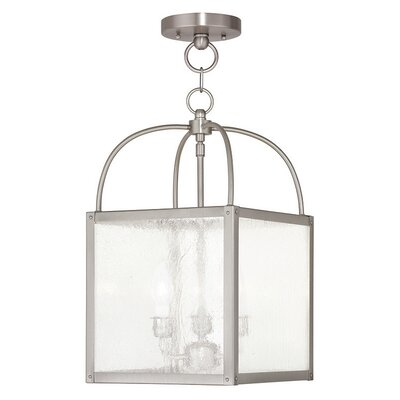 Brundidge 3-Light Foyer Pendant