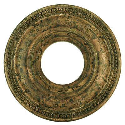 Wingate Ceiling Medallion Size: 1.5 H, Finish: Hand Applied Venetian Golden Bronze
