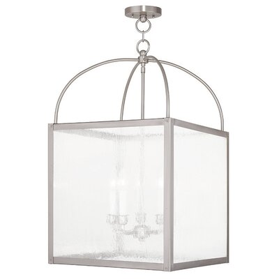 Brundidge 5-Light Semi Flush Mount