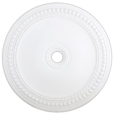 Wingate Ceiling Medallion Finish: White