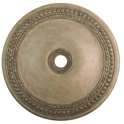 Wingate Ceiling Medallion Finish: Hand Painted Antique Silver Leaf