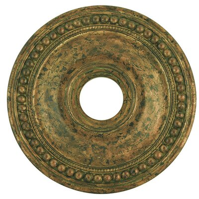 Wingate Ceiling Medallion Size: 2.5 H, Finish: Hand Applied Venetian Golden Bronze