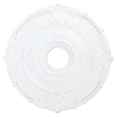 Buckingham Ceiling Medallion Size: 1.75 H x 22W