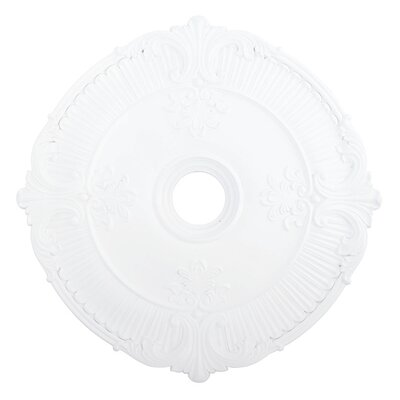 Buckingham Ceiling Medallion Size: 2.5 H x 30W