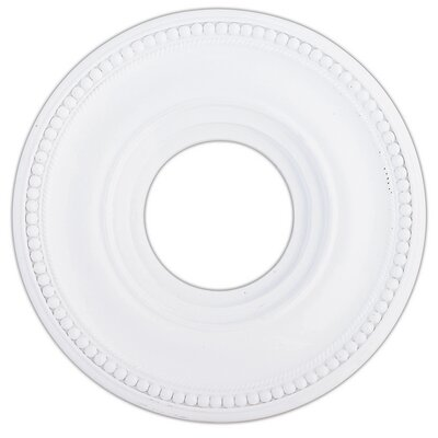 Wingate Ceiling Medallion Size: 1.25 H, Finish: White