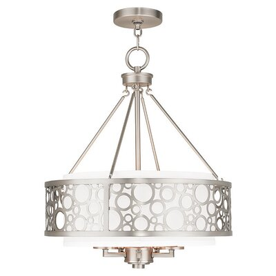 Laufer 6-Light Drum Chandelier