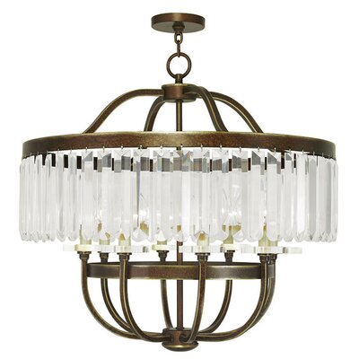Caroline 8-Light Crystal Chandelier