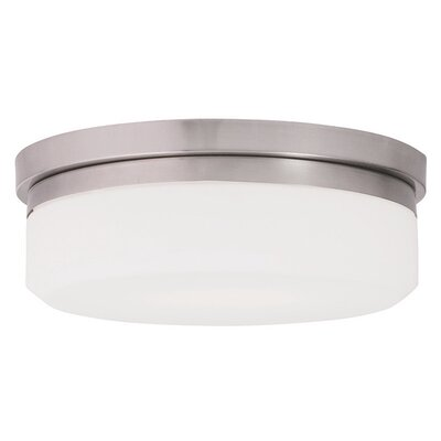 Hettinger 1-Light Flush Mount