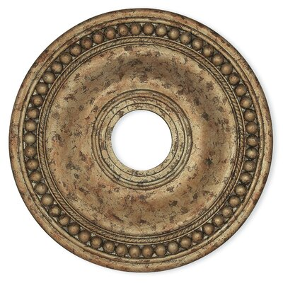 Wingate Ceiling Medallion Finish: European Bronze, Size: 1.5 H x 20 W x 20 D