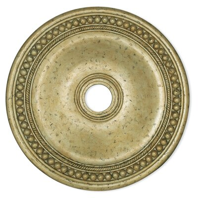 Wingate Ceiling Medallion Size: 2.5 H x 20 W x 20 D, Finish: Winter Gold