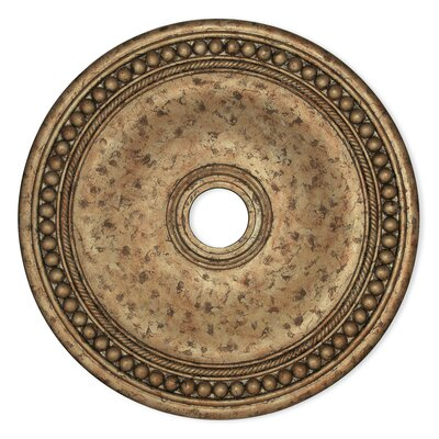 Wingate Ceiling Medallion Size: 2.5 H x 20 W x 20 D, Finish: European Bronze