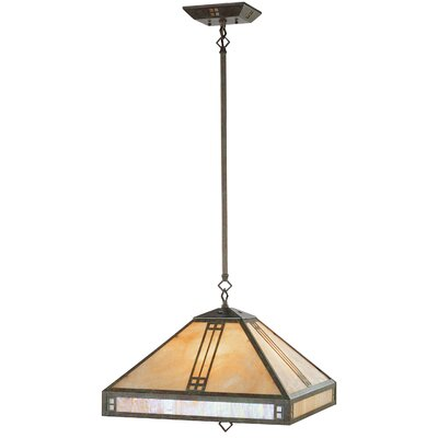 Thurlos 4-Light Pendant Finish: Verde Patina