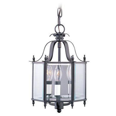 3-Light Convertible Foyer Pendant