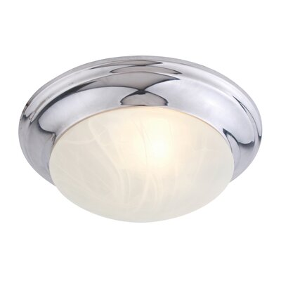 Tommie 1-Light Flush Mount Size: 3.75 H x 11.5 W x 11.5 D