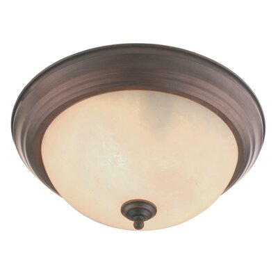 Regency Flush Mount Size: 5.75 H x 13.25 W x 13.25 D