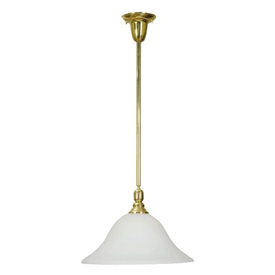 Edenfield Pendant in Polished Brass