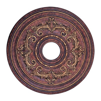 Ceiling Medallion in Verona Bronze Size: Extra Large