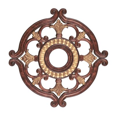 Ceiling Medallion in Verona Bronze Size: 1.5 H x 23.5 W x 23.5 D