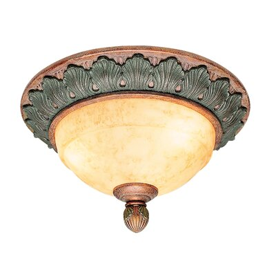 Bruce 2-Light Flush Mount