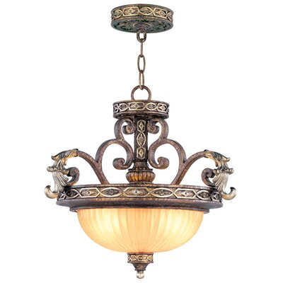 Schweizer Convertible Inverted Pendant Size: 17.5 H x 18.5 W x 18.5 D