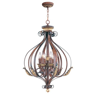 Scottdale 6-Light Foyer Pendant Size: 32.75 H x 23.5 W x 23.5 D
