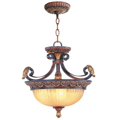 Scottdale Convertible Inverted Pendant Size: 17.5 H x 17 W x 17 D