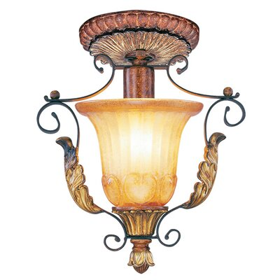 Villa Verona 1-Light Semi Flush Mount
