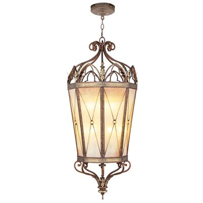 Bristol Manor 2-Light Foyer Pendant Size / Bulb Type: 49.5 H x 21 W x 21 D / Medium Base Bulb