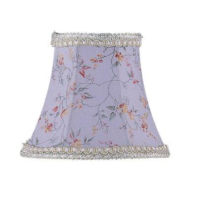 5 Floral Silk Bell Candelabra Shade