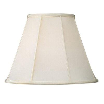"Livex Lighting 14"" Shantung Silk Empire Lamp Shade - Color: Off White"