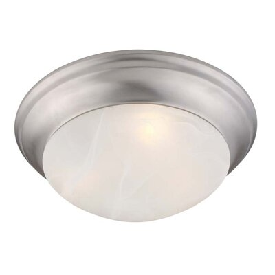 Bruford Dome Flush Mount Size: 4.75 H x 14 W x 14 D
