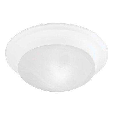 Bruford Bowl Shade Flush Mount Size: 3 H x 9.5 W x 9.5 D