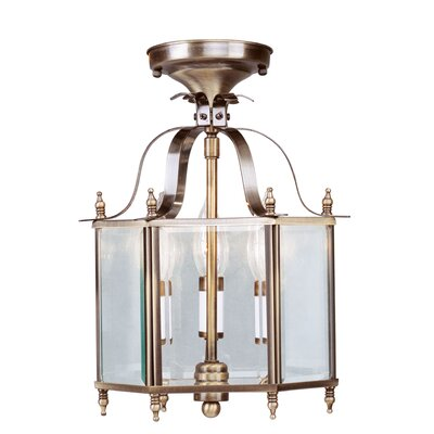 Lauritsen 3-Light Convertible Foyer Pendant
