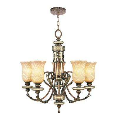 Bradner 5-Light Shaded Chandelier