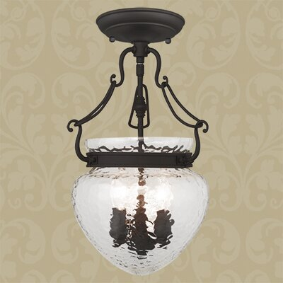 Braidwood 3-Light Convertible Foyer Pendant Finish: Bronze